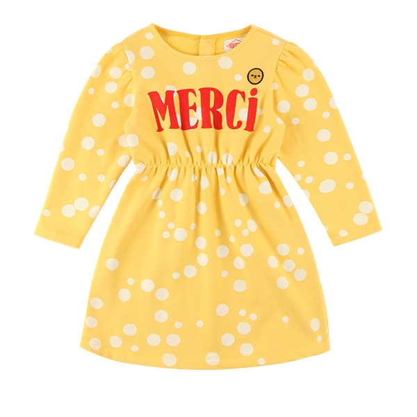 Merci multi sprinkle dots jersey dress  NEW FALL
