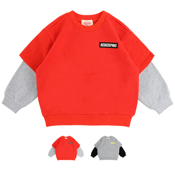 Basic bebedepino double sleeve sweatshirt_