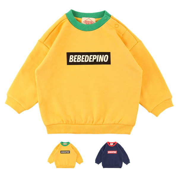 Basic baby colorblock sweatshirt_