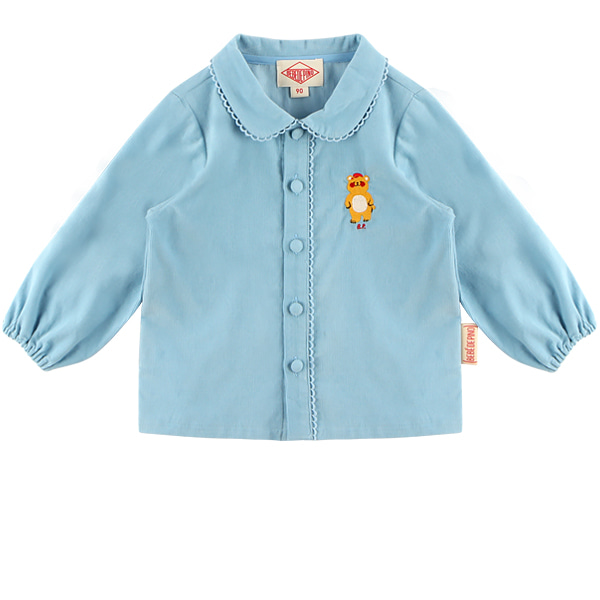 Bear baby corduroy blouse  NEW FALL