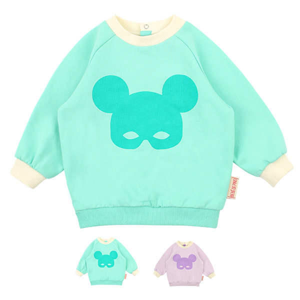 Basic baby pino mask sweatshirt
