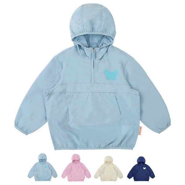 Basic pino mask windbreaker anorak