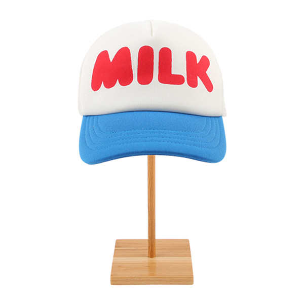 Milk color block trekker cap  NEW SPRING